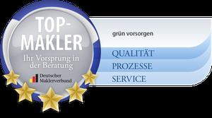 grün vorsorgen ist Top-Makler im Deutschen Maklerverbund
